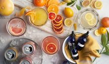 Citrus Mimosa Party with Cannabis Tinctures