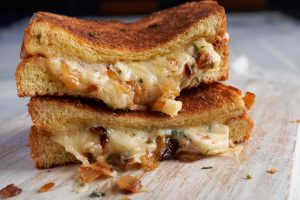Herbed Grilled Cheese
